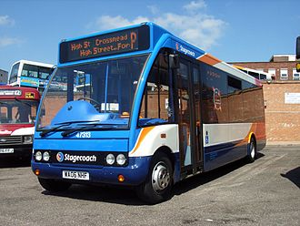 Optare Solo - Stagecoach South West Solo Slimline in Exeter in July 2006