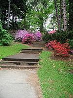 Highland Botanical Park · Stairshighlandparkrochester2001.JPG