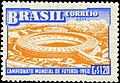 Stamp of Brazil - 1950 - Colnect 207778 - 4th Soccer World cup - Rio de Janeiro.jpeg