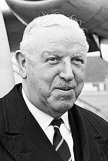 Stanley Rous President of FIFA