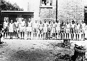 Civilian internee - Allied civilian internees at Camp Stanley during the Japanese occupation of Hong Kong