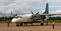 Star Up Airlines An24 Iquitos Peru.jpg