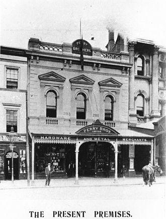 Perry House, Brisbane - Queen Street premises, 1906