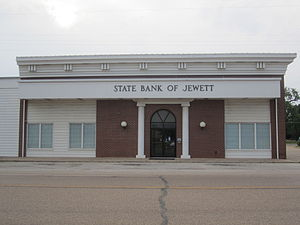Jewett, Texas - Image: State Bank of Jewett, TX IMG 2295