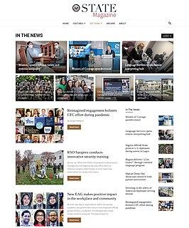 Online newspaper Newspaper in digital format