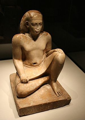 Statue of official Bes - Official Bes from the XXVI dynasty of Egypt