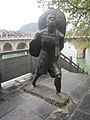 Statue of a docker in Zhenyuan County.jpg