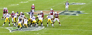 2008 Arizona Cardinals season - The Cardinals playing against the Pittsburgh Steelers in the Super Bowl