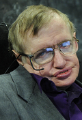 From commons.wikimedia.org: Stephen Hawking {MID-264609}