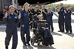 Stephen Hawking at Kennedy Space Center KSC-07pd-0963 .jpg