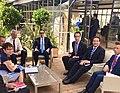 Steven Mnuchin and Bruno Le Maire at 2019 G7 Finance.jpg