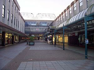 Stevenage - Pedestrianised Town Centre
