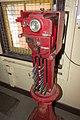 Stockinbingal-Cootamundra West staff instrument in the signal box at Stockinbingal railway station.jpg
