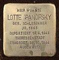 Stolperstein Barbarastr 14 (Lankw) Lotte Panofsky.jpg