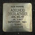 Stolperstein Bornwiesenweg 34 Adelheid Oberlaender.jpg