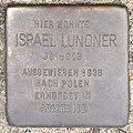 Stolperstein HB-Fliederstrasse 41a - Israel Lundner - 1938.jpg