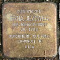 Stolperstein Kreuznacher Str 48 (Wilmd) Erna Jezower.jpg
