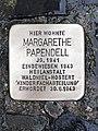 Stolperstein Margarethe Papendell.jpg