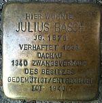 Stolperstein Munich Julius Basch.jpg
