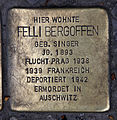 Stolperstein Sophienstr 6 (Mitte) Felli Bergoffen.jpg