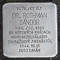 Stolperstein für Dr. Sandor Rothman.jpg