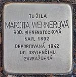 Stolperstein für Margita Wernerova (Prievidza).jpg