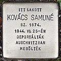 Stolperstein für Samune Kovacs (Szeged).jpg