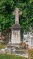 Stone cross near church in Firmi.jpg