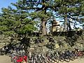 Stone wall and site of Taiko-Yagura of Tokushima Castle.JPG
