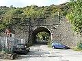 Stony Lane railway bridge, Charlestown, Hebden Bridge - geograph.org.uk - 1532318.jpg