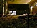 Storage yard under the Humber Bridge at night. - geograph.org.uk - 271934.jpg