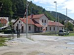 Railway halt in Štore