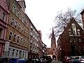 Strasse Am Judenkirchhof Alter Jüdischer Friedhof Hannover Nordstadt Christuskirche.jpg