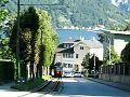 File:Strassenbahn Gmunden in der Alois-Kaltenbruner-Strasse 2011.webm