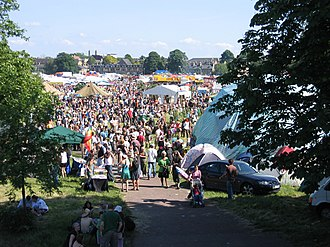 Free festival - Image: Strawberry Fair 2007, Cambridge geograph.org.uk 460832