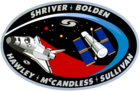 Sts31 flight insignia.png