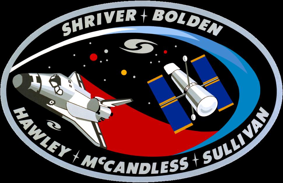 Sts31 flight insignia