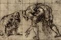 Studio per una Figura delle Nozze... - Jacopo Tintoretto.png