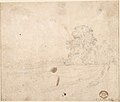 Study of a Seated Woman and Five Studies of Hands; Verso- Landscape with a Road and a Tree to the Right MET DP801119.jpg