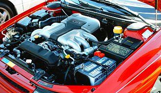 Subaru Alcyone SVX - EG33, quad cam, 24 valve engine