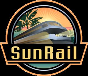 Orlando City Stadium - Image: Sun Rail logo