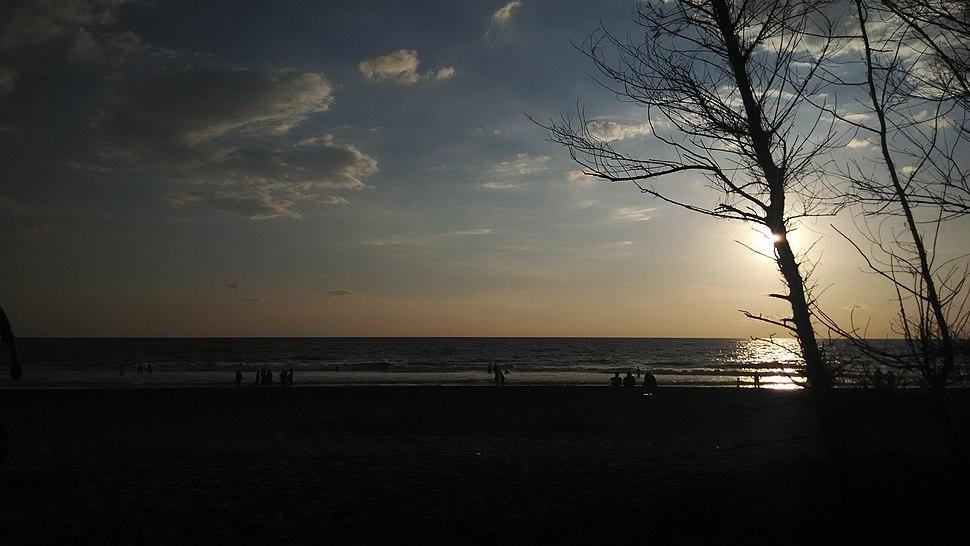 Sunset at Kappil beach