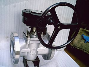 Plug valve - Super duplex plug valve.