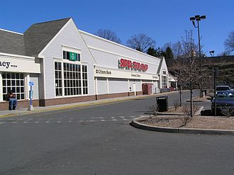 Stop & Shop - A typical older location, using the old logo, since replaced. This location is from Yonkers, New York.