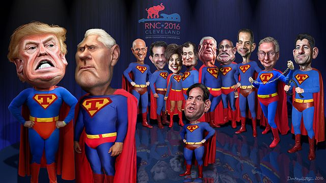 Super Trumps of the RNC, From WikimediaPhotos