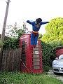 Superman scarecrow - Blewbury Scarecrow Competition, Oxfordshire - geograph.org.uk - 1376221.jpg
