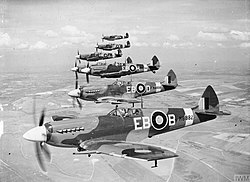 Supermarine Spitfire F Mk XIIs of 41 Sqn.jpg