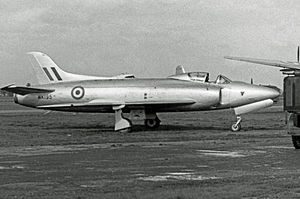 Supermarine Swift - Swift.F.1 test aircraft operated by Vickers-Armstrong in 1953
