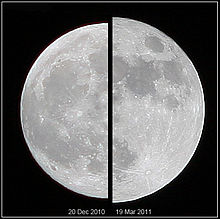 short paragraph on moon