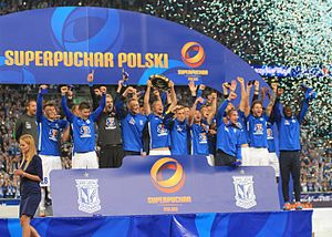 Polish SuperCup - Lech Poznań wins Polish SuperCup in 2015.